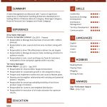 Area Sales Manager CV Template