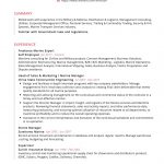 Business Administration CV Template