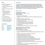 Contract Officer CV Template