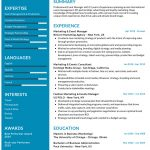 Event Manager CV Template