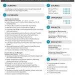 Human Resources Manager CV Template