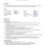 Human Resources Professional CV Template