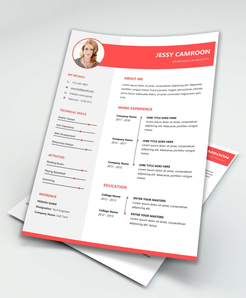 Simple Resume Template Word: Best Resume Template Word By MaxResumes