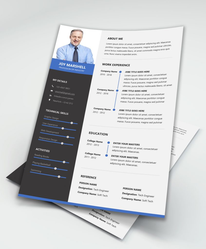 Professional Resume Template Word Download  Maxresumes