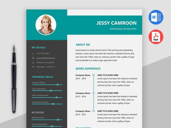 Modern Clean Resume Template