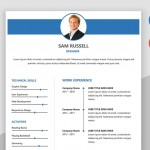 Impact MS Word Resume Template