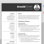 Forever - Classic Best Resume Template