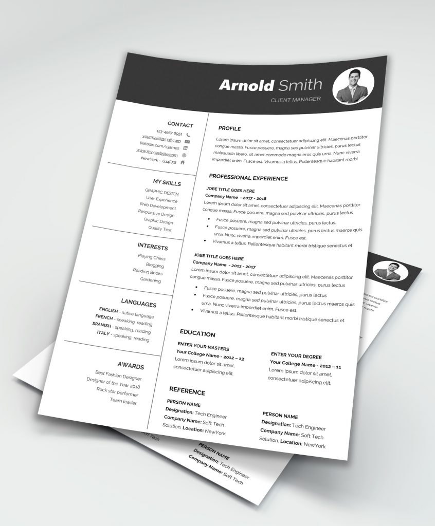 Free Resume Templates Downloadable