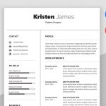 Race Simple Professional Resume Template