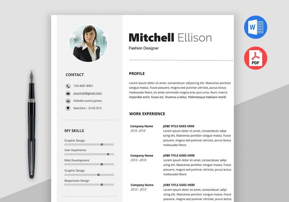 Classic Resume Template. Target U2013 Basic Resume Template Word