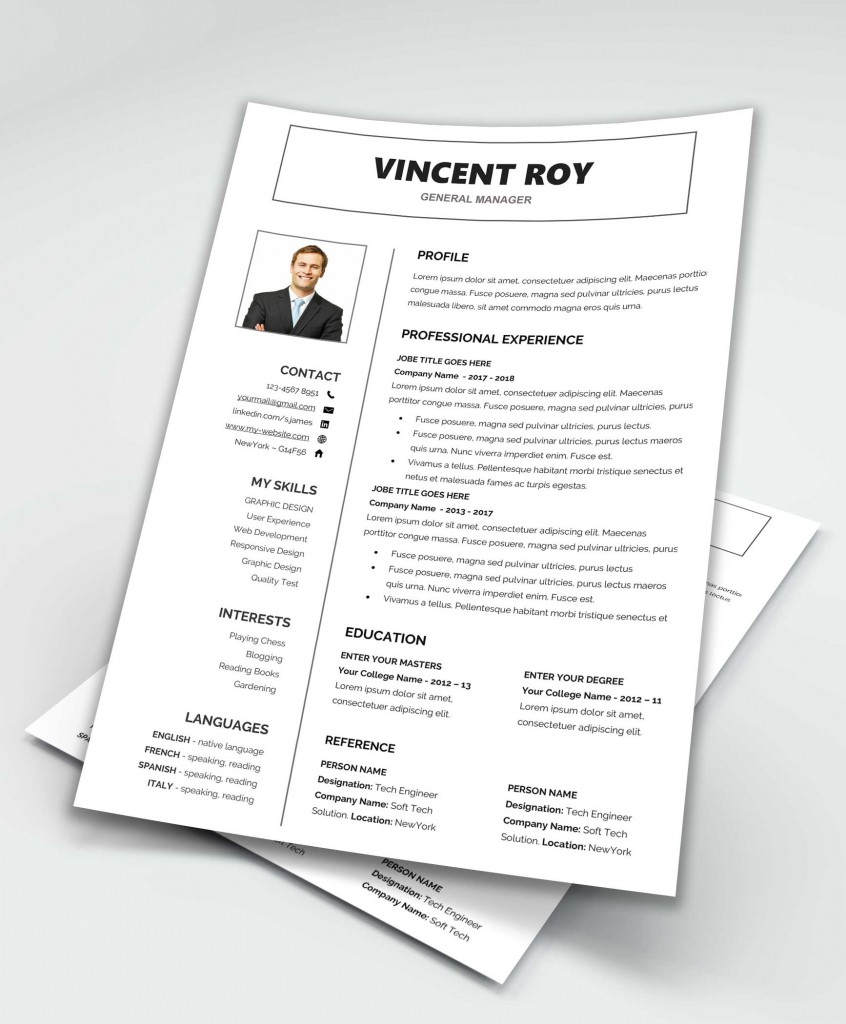 resume template word free download maxresumes