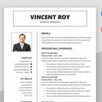 Victory Resume Template Word MS