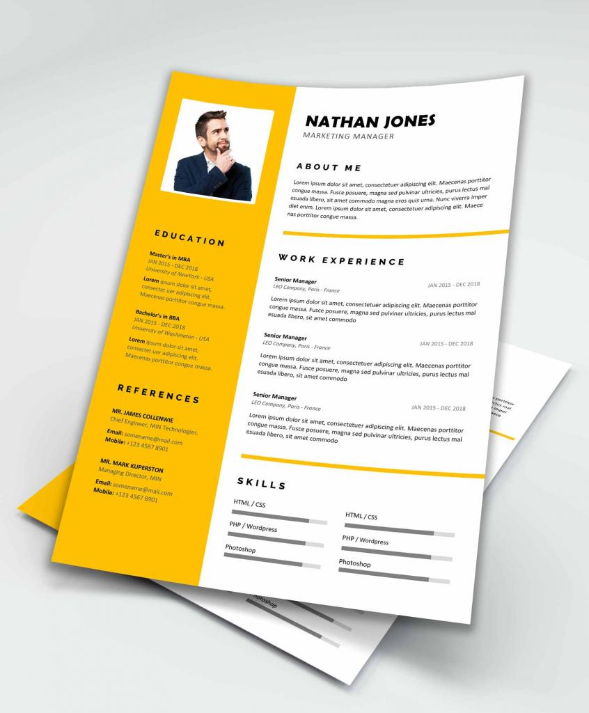 Assure Free Resume Template For Ms Word - Maxresumes