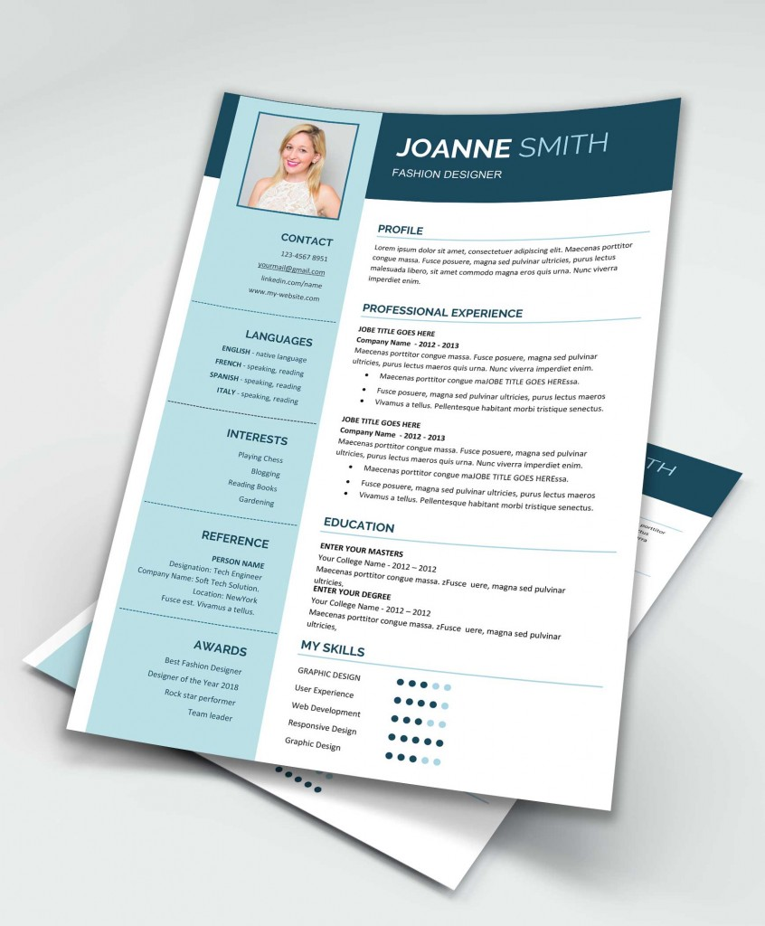 Modern Resume Template Ms Word  Maxresumes