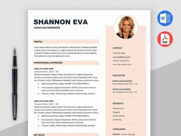 2018 free resume templates ms word pdf download in 1 minute shine free creative resume template microsoft word maxwellsz