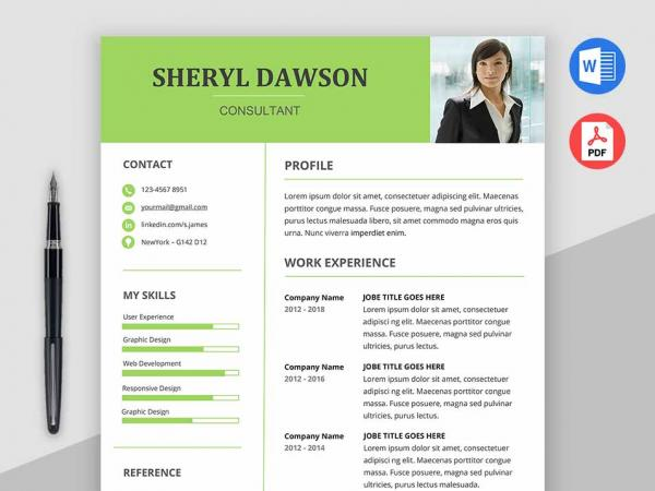 star free modern resume template word - Free Modern Resume Templates For Word