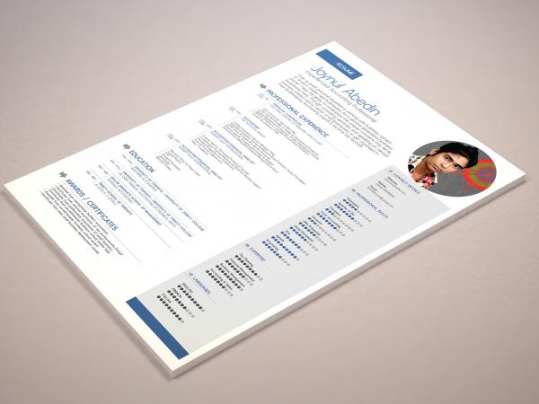 Simple Professional Resume Template