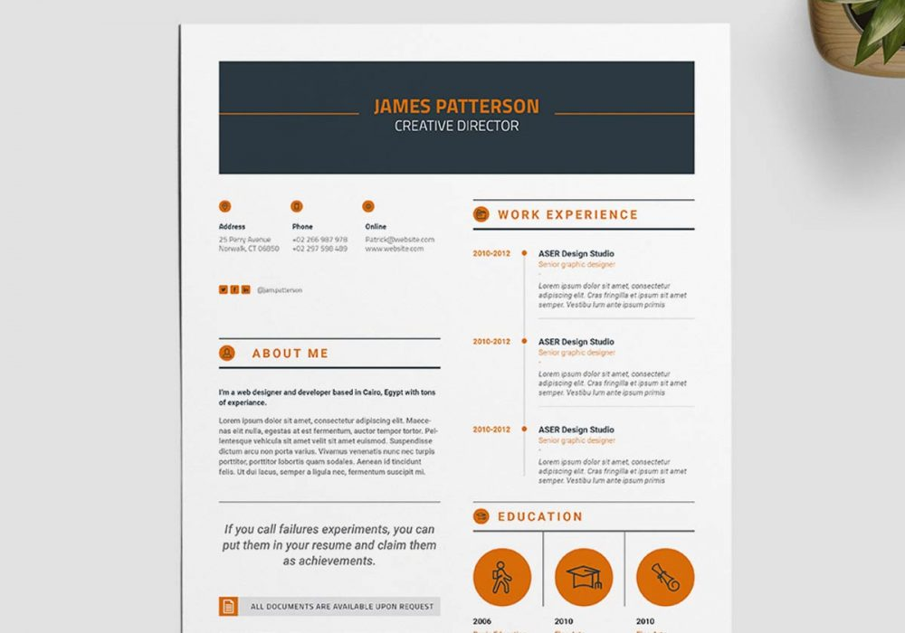 Creative Indesign Resume Template Free Download 2020 Maxresumes