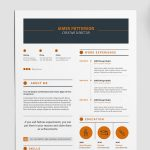 Creative Indesign Resume Template Free Download