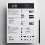 Best Indesign Simple Resume Template
