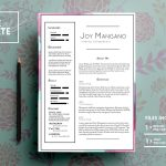 Free PSD Beautiful Resume Template