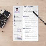 Free Two page Simple Resume Template