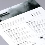 Free Simple & Clean Resume Template Download