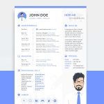 Free Sketch Resume Template Download