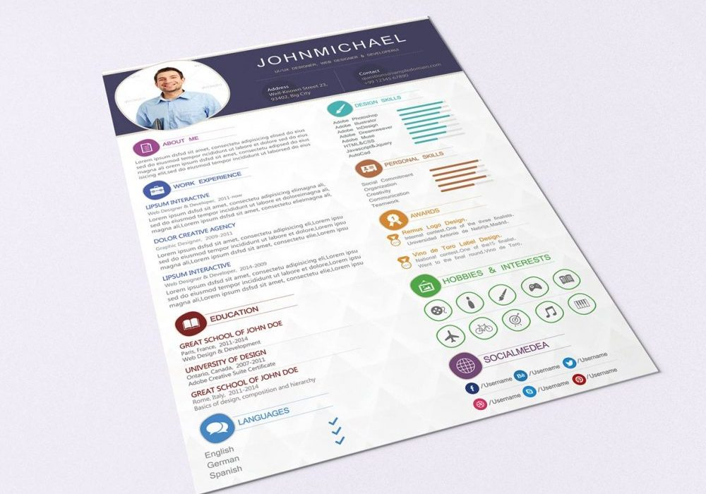 Free Modern Resume Template With Cover Letter 2020 Maxresumes