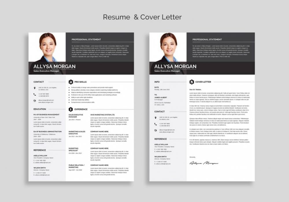 Free Professional Resume Template Word 2020 Maxresumes