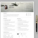 Adobe Illustrator Resume Template Free