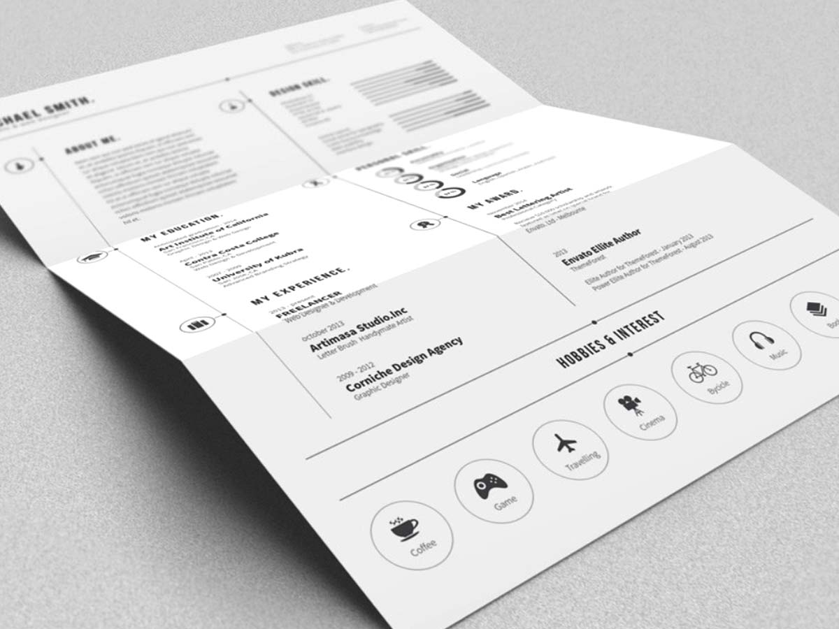 Best Free Simple Resume Template File