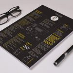 Black Color Free Resume Template