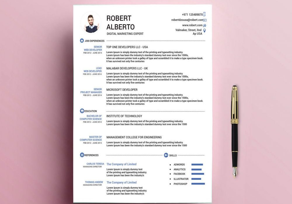 Classic Resume Template