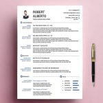 Free Classic Resume Template Multi Format