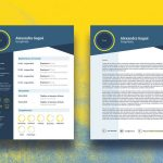 Trendy Resume Template Free Download