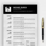 Free Simple Resume Template Word Format