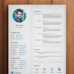 Free Photoshop Resume Templates Download