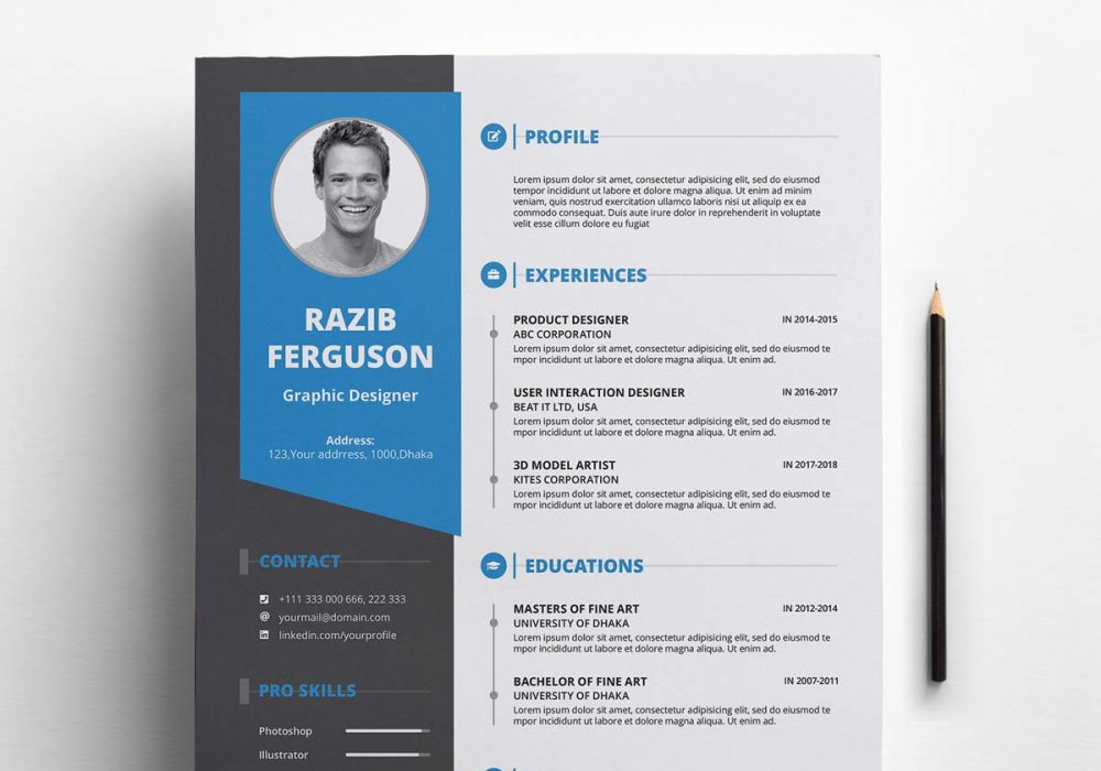 Free Resume Template Download With Cover Letter 2020 Maxresumes