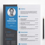 Free Resume Template Download with Cover Letter