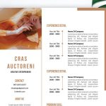 Free Resume Template Word Format with Photo