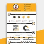 Infographic Resume Template Free File
