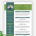 Modern Resume Template Free PSD