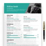 Photographer Resume Template Free
