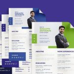 Professional Corporate Resume Template with Modern Look