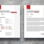 Trendy Resume Template Word & PSD