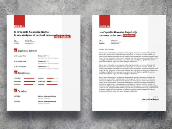 Trendy Resume Template