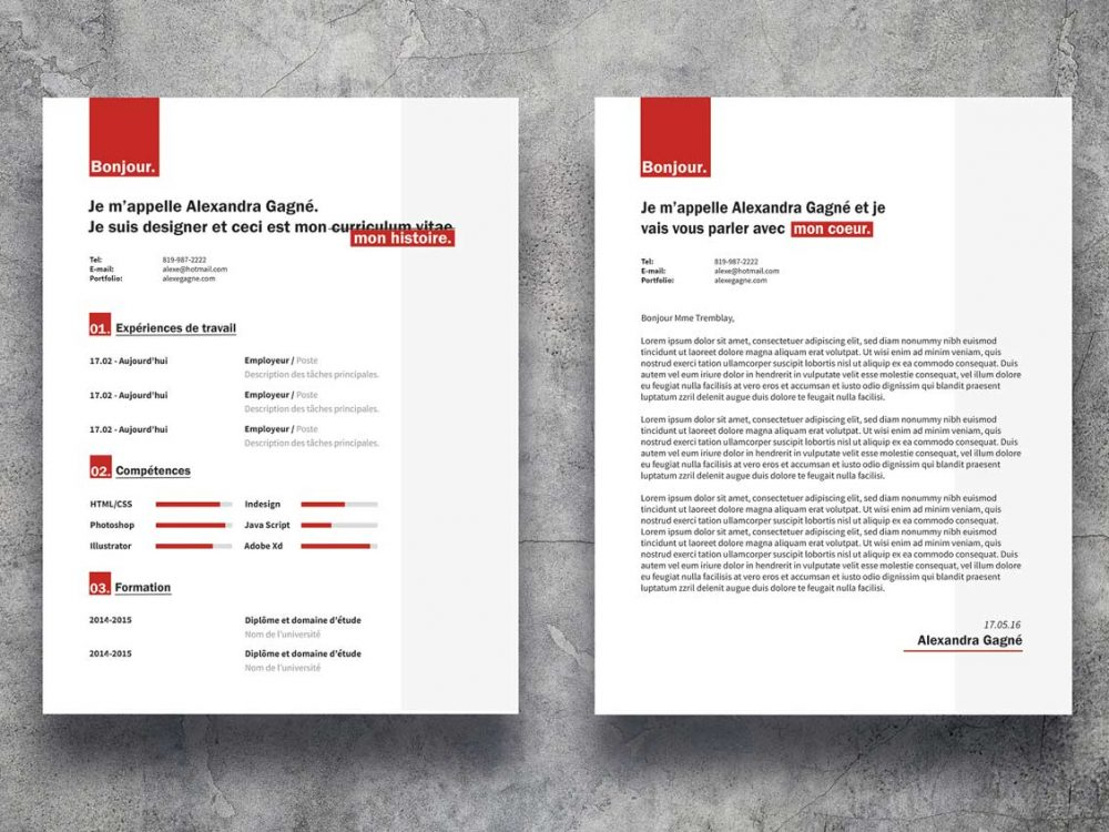trendy-free-resume-template-word-psd Very Simple Resume Format Download In Ms Word on