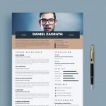 Modern Trendy Free Resume Template