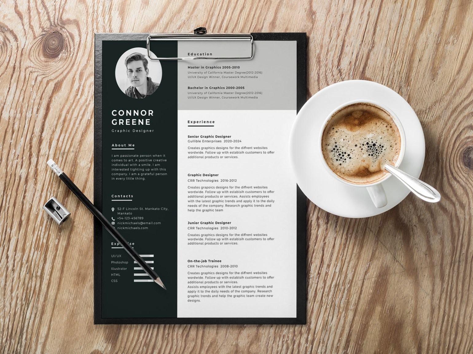 Free Experienced Resume Template in Doc Format